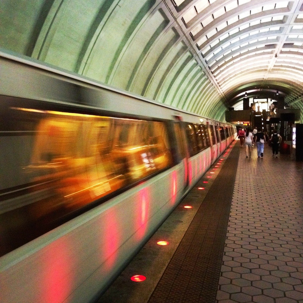 D.C. Metro - photo taken with Scout Camera