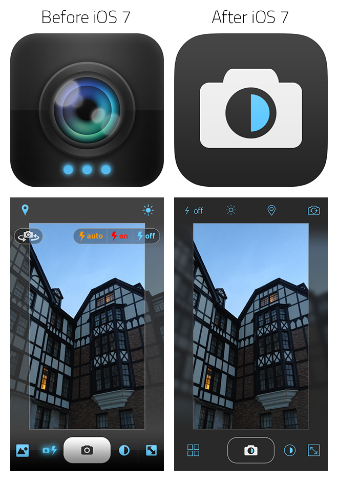 Scout Camera for iOS 7